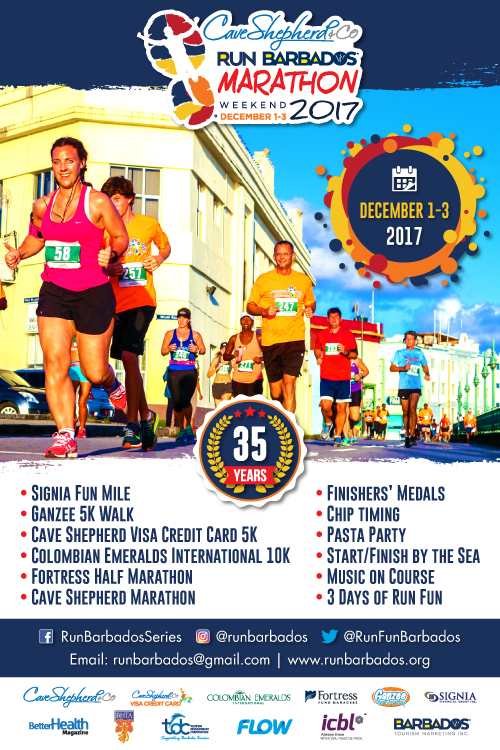 Run Barbados 35th Anniversary! @ Barbados
